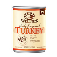 Wellness® 95% Turkey Dog Food 13.2 oz. 994009