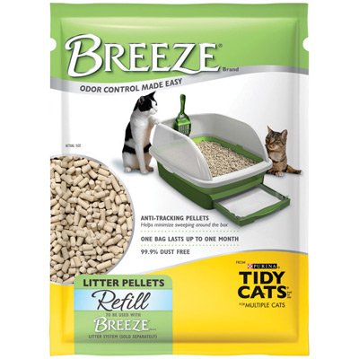Tidy Cat Breeze Pellets Refill-use with Breeze System 7# I008287