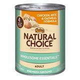 Nutro® Natural Choice® Wholesome Essentials™ Adult Chicken, Rice, & Oatmeal Formula 12.5 oz 99922