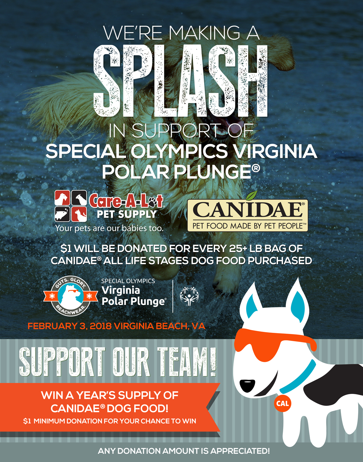 Care-a-lot and the Polar Plunge