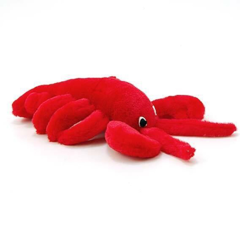 Multipet Look Who's Talking Plush Lobster Dog Toy  I003544