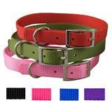 "Coastal® Personalized 3/8"" x 10"" Traditional Style Buckle Collar P2999010e"