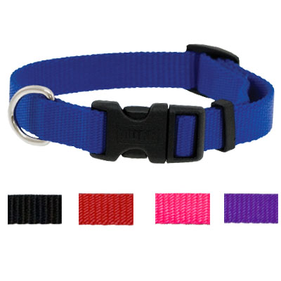 Snap-Lock Nylon Collars Personalized 5/8 in. x10-14 in.
