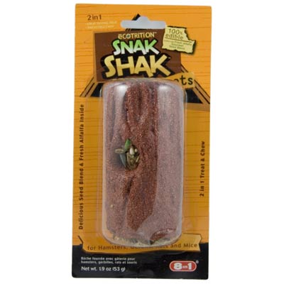 eCotrition™ Snak Shak™ Treat Stuffers Edible Log Z02685102216b