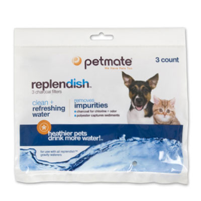 Petmate® Replendish™ Replacement Filter 3 Pack 14752