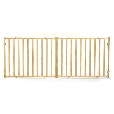 MidWest® Extra-Wide Wood Pet Gate 14987