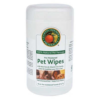 Earth Friendly Products® Pre-Moistened Pet Wipes 15085