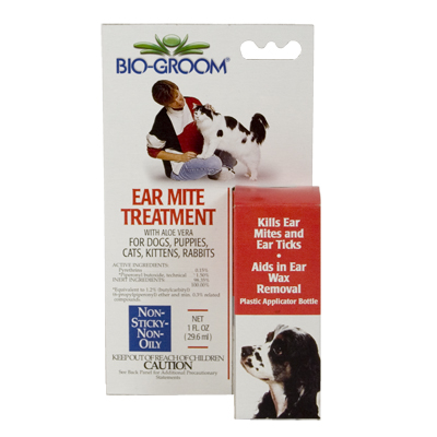 Bio-Groom® Ear Mite Treatment with Aloe Vera 151167b