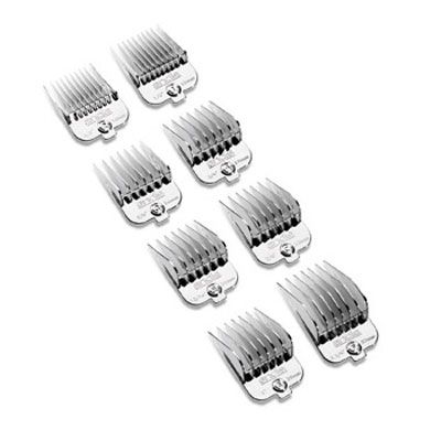Andis® Chrome Combs Universal Comb Set 26587
