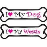 Dog Bone Magnets in Pink 29050b