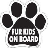 Paw Magnet Fur Kids On Board 290551