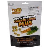 Pet 'N Shape® Freeze Dried Chicken Liver PLUS Peas & Carrots 2 oz. 370113