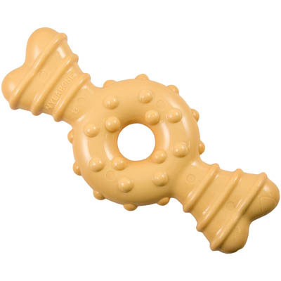 Nylabone Dura Chew Plus Petite Textured Ring Bone 412055