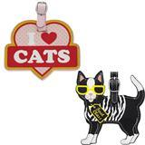 Cat Luggage Tags 48087b
