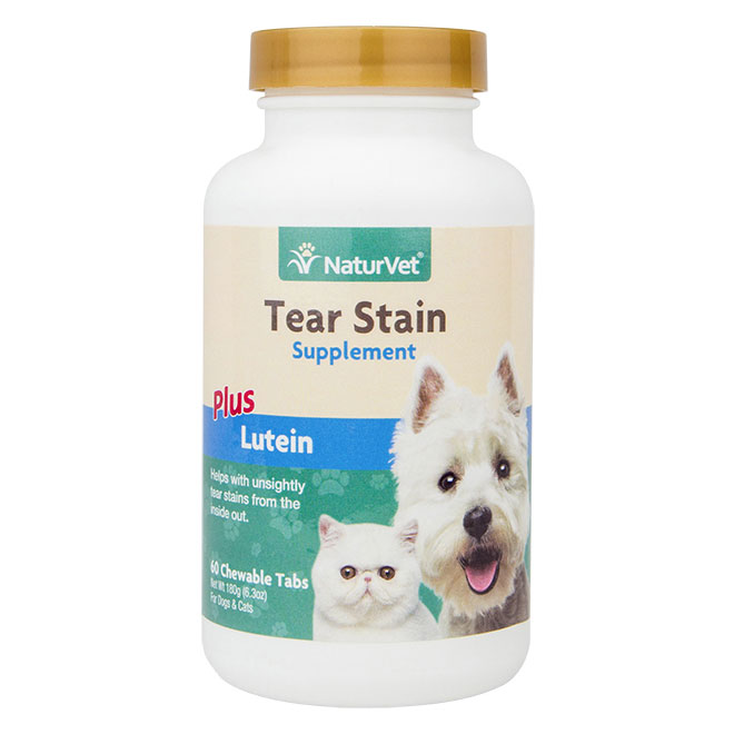 NaturVet® Tear Stain Supplements 60 ct. Tablets 49011