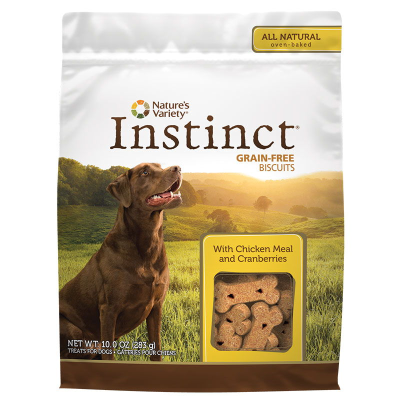 Nature's Variety® Instinct® Grain-Free Biscuit Treats Chicken 10 oz. 60570