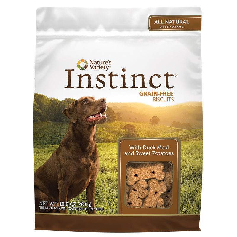 Nature's Variety® Instinct® Grain-Free Biscuit Treats Duck 10 oz. 60572