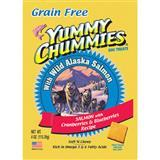 Yummy Chummies® Grain Free Wild Alaska Salmon with Cranberries & Blueberries Dog Treats 4 oz. 615122