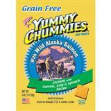 Yummy Chummies® Grain Free Wild Alaska Salmon with Carrots, Kelp & Spinach Dog Treats 4 oz. 615123