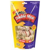 "Dingo® Double Meat Bone Dog Treat 12 Pk 2.5"" Bones 6265"