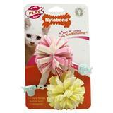 Nylabone® Play Hunt & Action Cat Toys Roll 'N' Chase Toss 'Em Blossoms™ 72200
