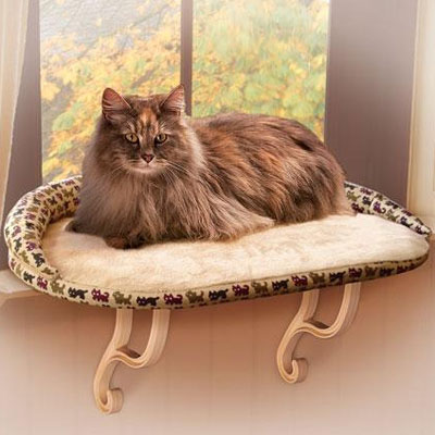 K&H™ Deluxe Bolstered Kitty Sill™ 75497