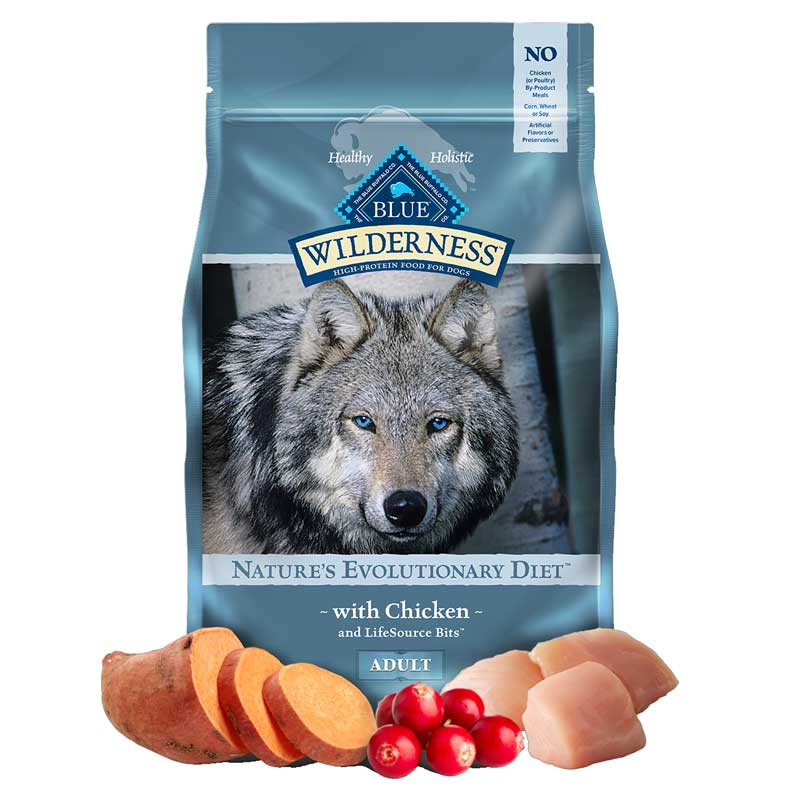 Blue Buffalo BLUE™ Wilderness™ Chicken Recipe Dog Food 782053b