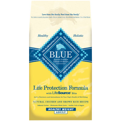 Blue Buffalo BLUE™ Healthy Weight Chicken & Brown Rice Adult Dog Food 7820619b