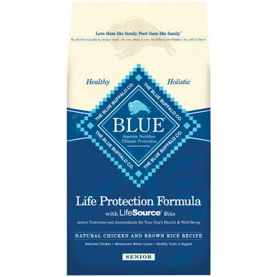 Blue Buffalo BLUE™ Senior Chicken & Brown Rice Recipe 7820620b