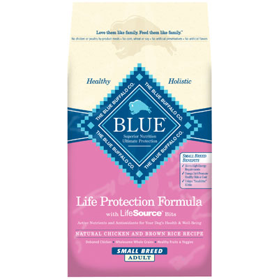 Blue Buffalo BLUE™ Small Breed Chicken & Brown Rice for Adult Dogs 15 lbs. 7820622