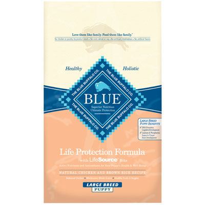 Blue Buffalo BLUE™ Large Breed Puppy Chicken & Brown Rice Recipe 7820625