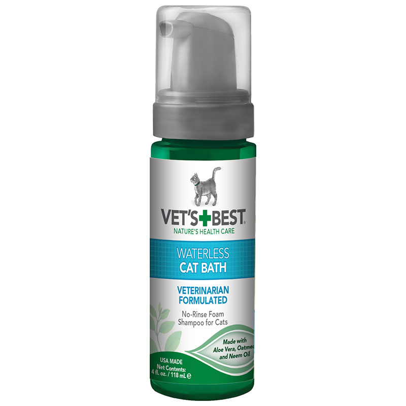 Vet's + Best™ Waterless Bath for Cats 78501