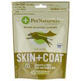 Pet Naturals® of Vermont Skin + Coat Bone Shaped Chews for Dogs 87688