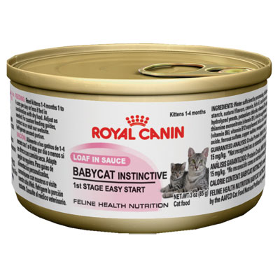 Royal Canin® BABYCAT INSTINCTIVE™ Canned Cat Food 3 oz. 112059