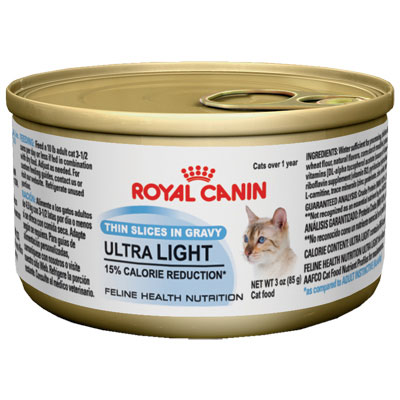 Royal canin® ULTRA LIGHT Canned Cat Food 3 oz. 112063