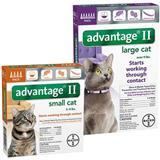 Advantage® II for Cats 1186b