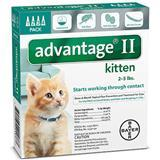 Advantage® II Kitten Formula 4 Pack 11884