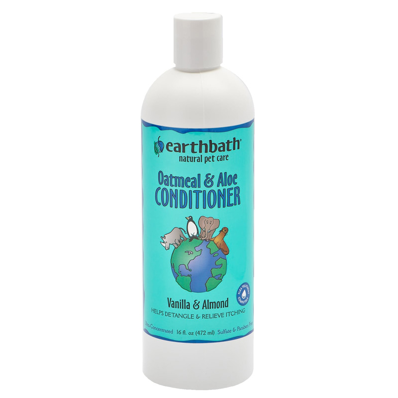 earthbath® Oatmeal & Aloe Conditioner, Vanilla & Almond Scent, 16 oz. 133801