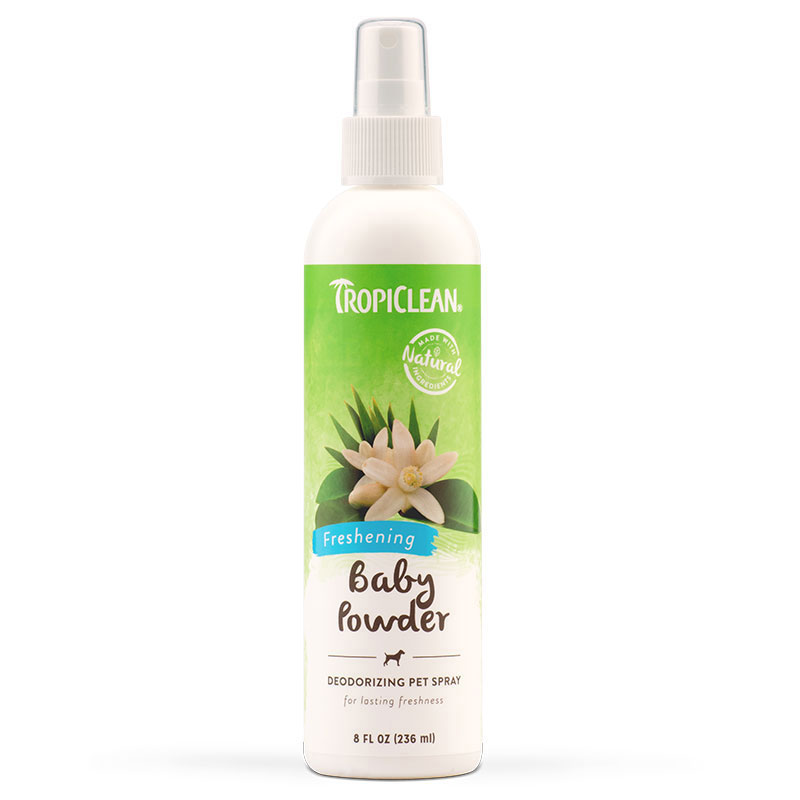 Tropiclean® Baby Powder Natural Pet Spray 8 oz. 261104