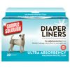 Simple Solution® Diaper Liners 2609B