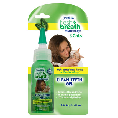Tropiclean® Clean Teeth Gel for Cats 2 oz.