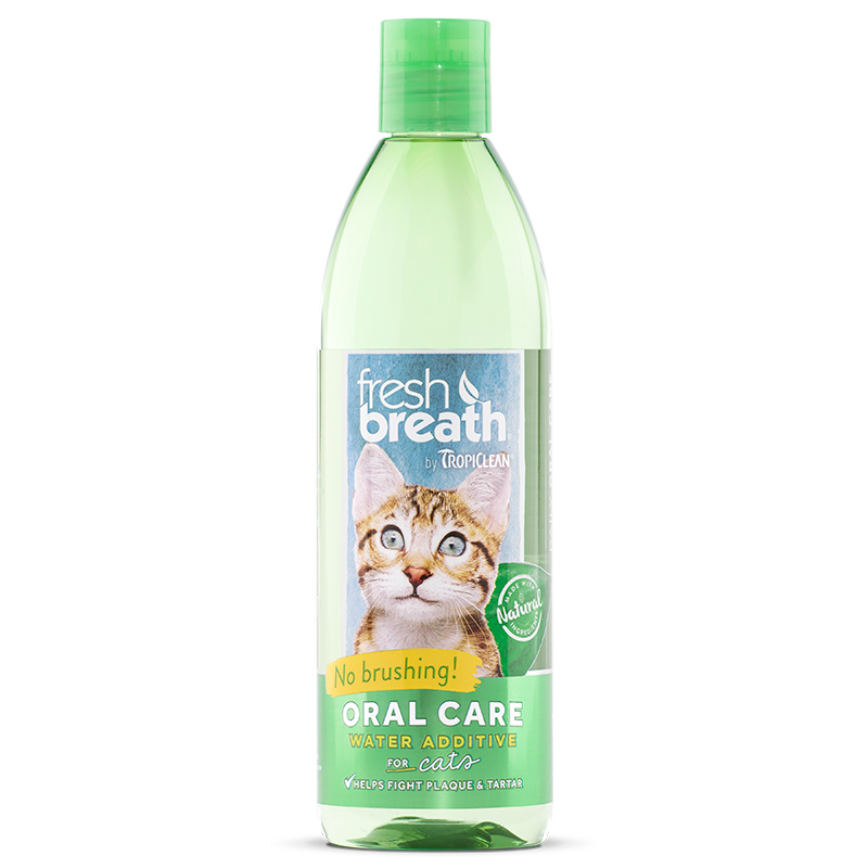 Tropiclean® Fresh Breath Water Additive for Cats 16 oz 41152