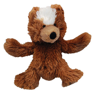 KONG® Plush No-Stuffing Teddy Bear Dog Toy 426715
