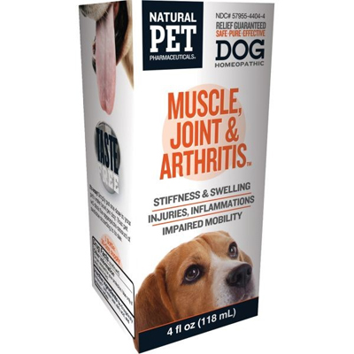 Natural Pet Pharmaceuticals ® Muscle, Joint & Arthritis Reliever ™ For Canines 4 oz. 498113