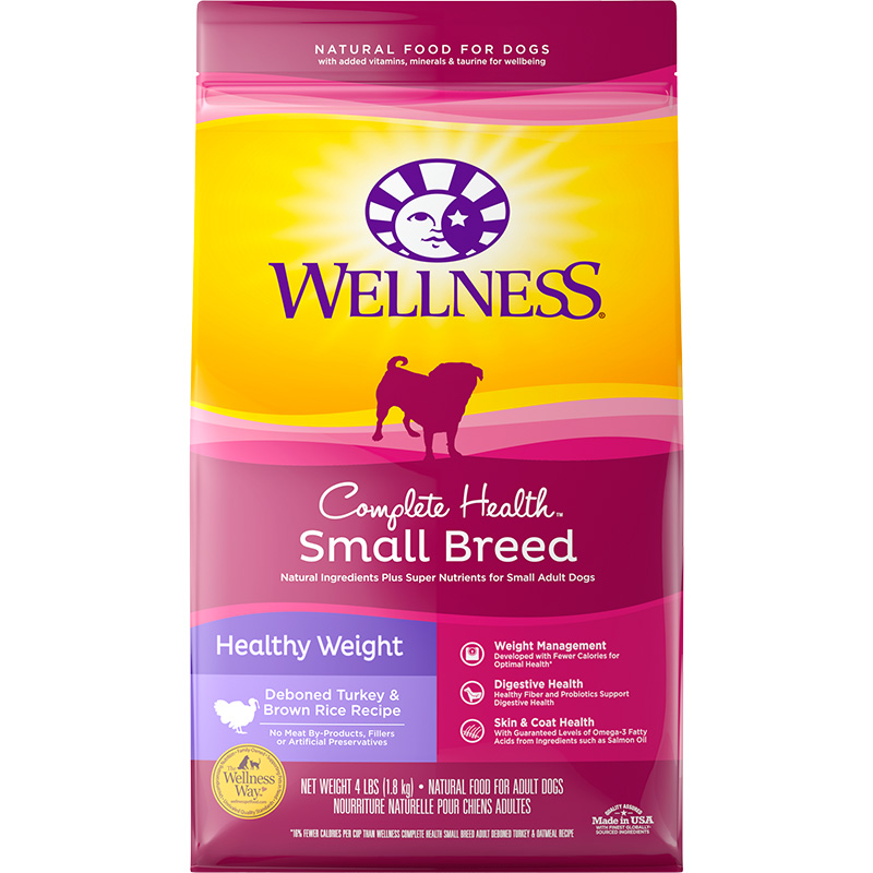 Wellness® Complete Health® Super5Mix® Small Breed Healthy Weight Recipe 5487b
