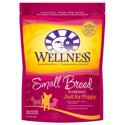 Wellness® Complete Health® Super5Mix® Small Breed Just for Puppy Recipe 4 lbs. 5490
