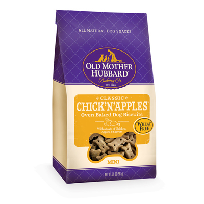 Old Mother Hubbard® Biscuits for Dogs Chick'N'Apples Mini 20 oz.  615831