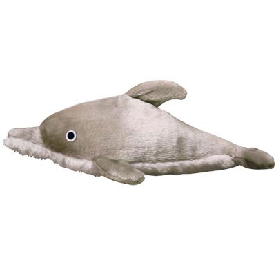 VIP Mighty® Toys Ocean Dolphin-Dolly Plush Dog Toy 618251