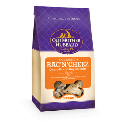 Old Mother Hubbard® Treats for Dogs Bac'N'Cheez® Large 3 lbs. 61833
