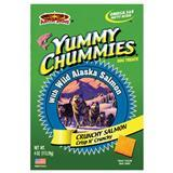 Yummy Chummies® Dog Treats Wild Alaska Salmon Crunchy Salmon 4 oz.  64510